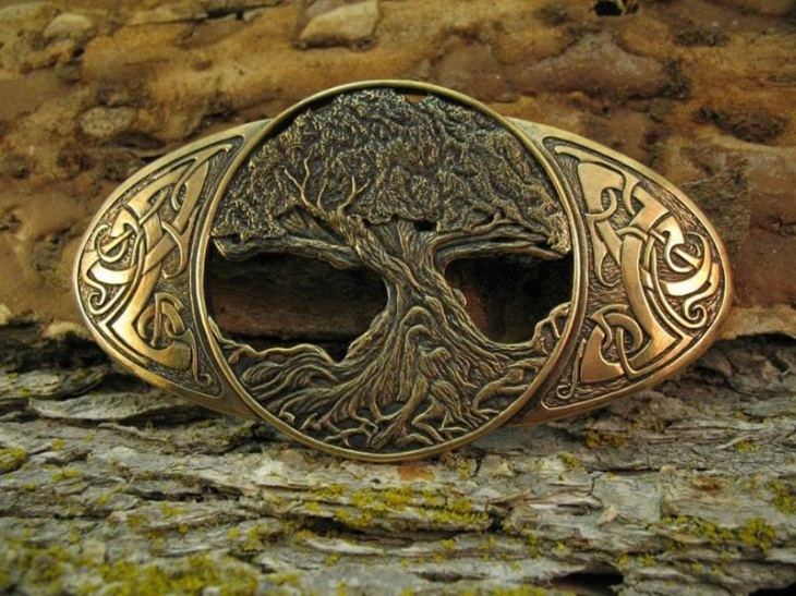 Celtic Belt Buckle.